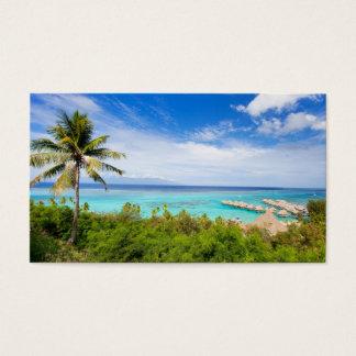 Tahiti Business Card