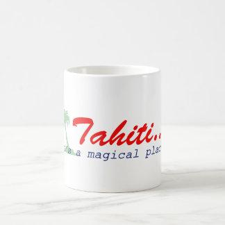 Tahití - es un lugar mágico taza de café