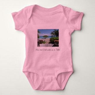 Tahiti Getaway Baby Bodysuit