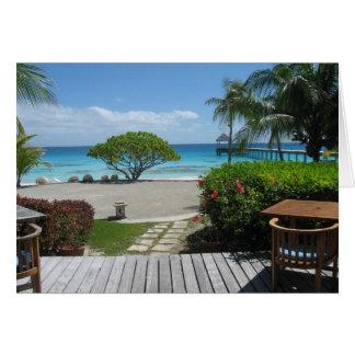 Tahiti Getaway Card