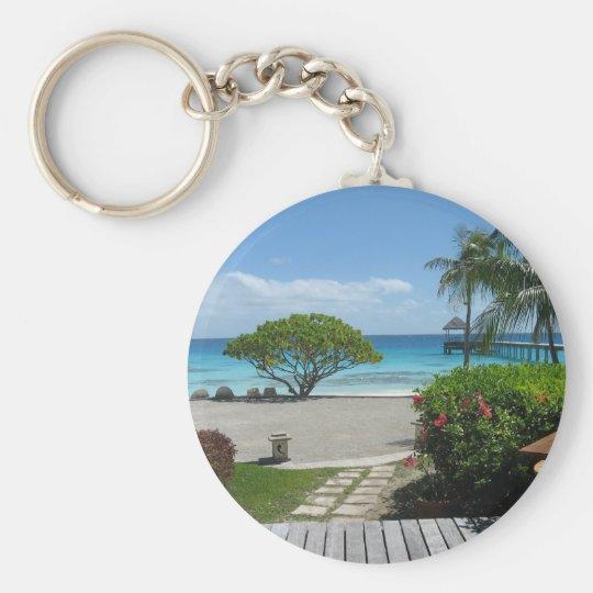 Tahiti Getaway Keychain