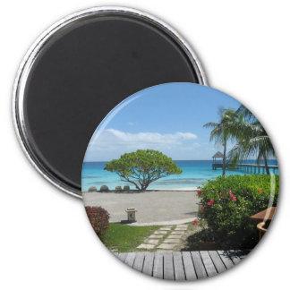 Tahiti Getaway Magnet