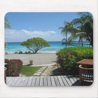 Tahiti Getaway Mouse Pad