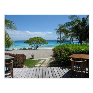 Tahiti Getaway Postcard