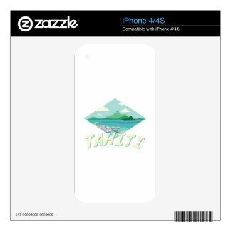 Tahiti iPhone 4 Skins