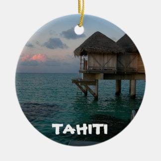 Tahiti Lagoon Festive Circle Ornament
