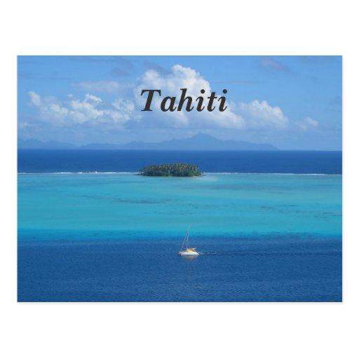Tahiti Post Card