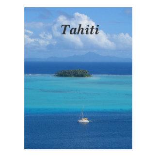 Tahiti Postcard