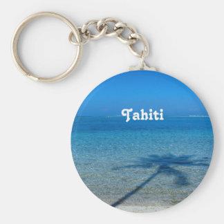 Tahiti Reflections Basic Round Button Keychain