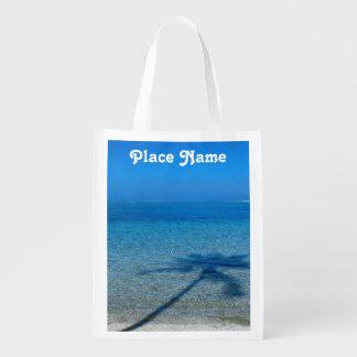 Tahiti Reflections Grocery Bags