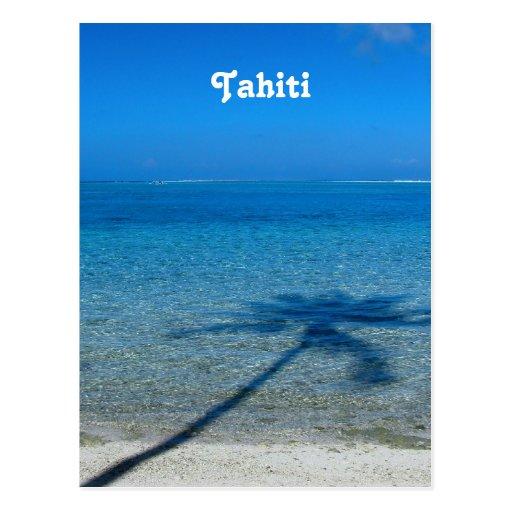 Tahiti Reflections Post Card
