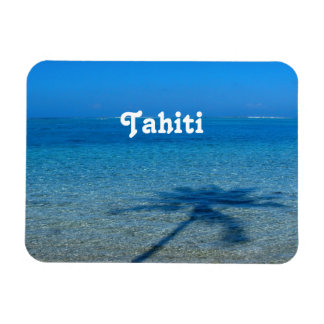 Tahiti Reflections Rectangular Photo Magnet