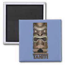 Tahiti Tiki Magnet