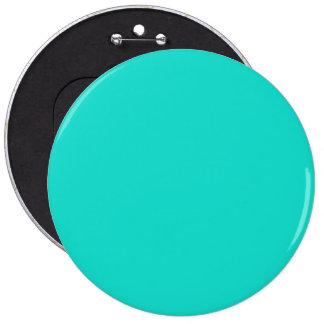 Tahiti Turquoise-Aquamarine-Tourmaline Blue-Ocean Pinback Button
