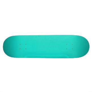 Tahiti Turquoise-Aquamarine-Tourmaline Blue-Ocean Skateboard Deck
