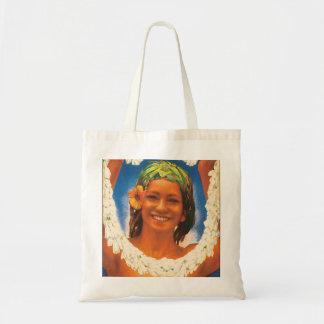 Tahiti Vintage Travel Poster Tote Bag