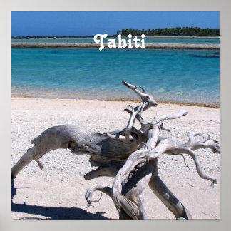 Tahitian Beach Poster