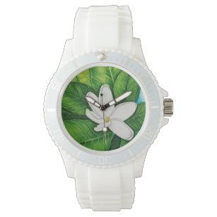 Tahitian Gardenia Wrist Watch