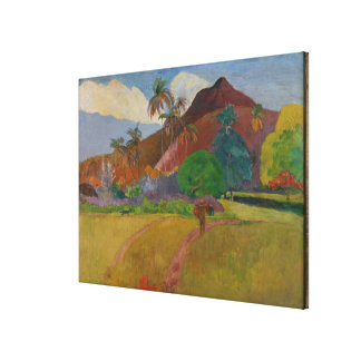Tahitian Landscape, 1891 (oil on canvas) Gallery Wrap Canvas