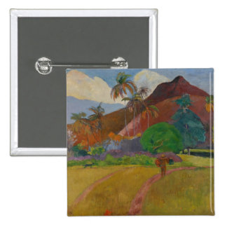 Tahitian Landscape 1891 oil on canvas Pin