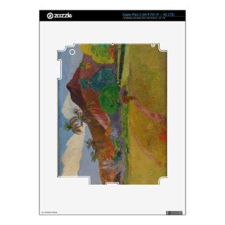 Tahitian Landscape, 1891 (oil on canvas) iPad 3 Skin
