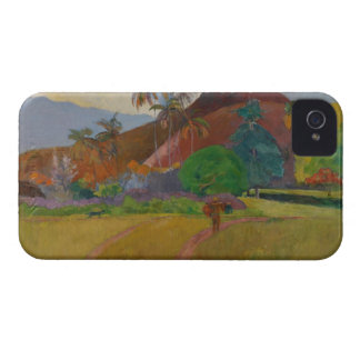 Tahitian Landscape, 1891 (oil on canvas) iPhone 4 Cover