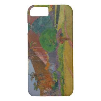 Tahitian Landscape, 1891 (oil on canvas) iPhone 8/7 Case