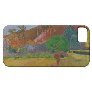 Tahitian Landscape, 1891 (oil on canvas) iPhone SE/5/5s Case