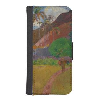 Tahitian Landscape, 1891 (oil on canvas) iPhone SE/5/5s Wallet Case