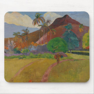 Tahitian Landscape, 1891 (oil on canvas) Mouse Pad