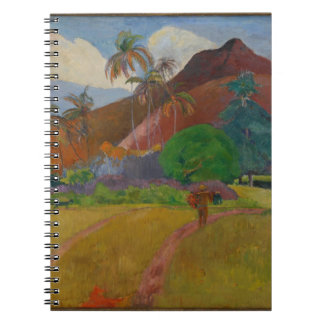 Tahitian Landscape, 1891 (oil on canvas) Notebook