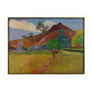 Tahitian Landscape, 1891 (oil on canvas) Postcard