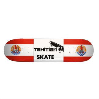 tahitian skate (Tahití representa) Tabla De Skate