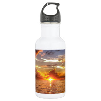 TAHITIAN SUNSET STAINLESS STEEL WATER BOTTLE