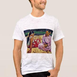 Tahitian Women On The Beach By Paul Gauguin T-Shirt