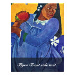 Tahitierin With Mango By Gauguin Paul Full Color Flyer
