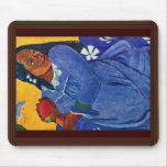 Tahitierin With Mango By Gauguin Paul Mouse Pad