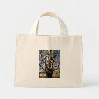 Tahoe 075, use this bag. save a tree. mini tote bag