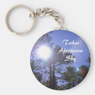 Tahoe Afternoon Sun & Sky Key Chains