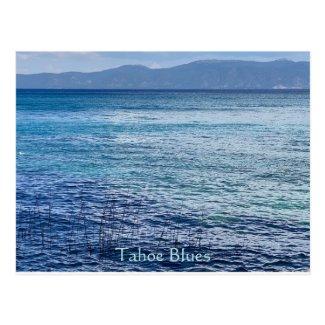 Tahoe Blues Postcard