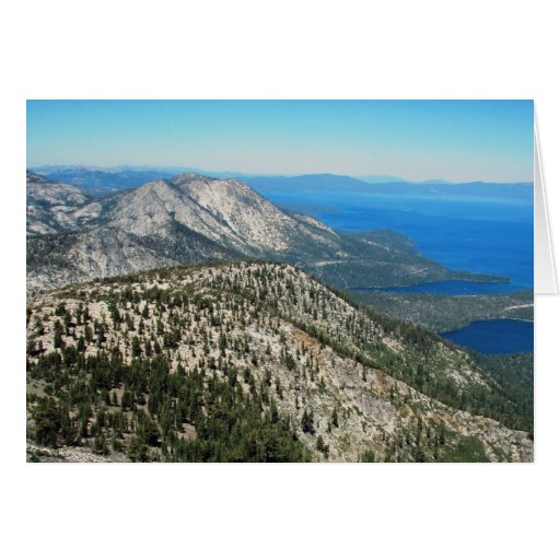 Tahoe from Mt Tallac Card