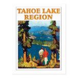 Tahoe Lake Region Postcard