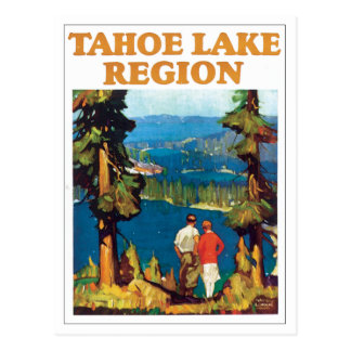 Tahoe Lake Region Vintage Postcard