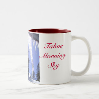 Tahoe Morning Sun & Sky Cup/Mug Two-Tone Coffee Mug