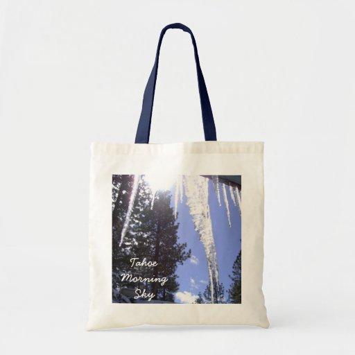 Tahoe Morning Sun & Sky Tote Bag
