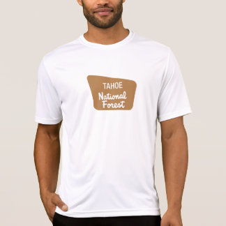 Tahoe National Forest Sign Tees