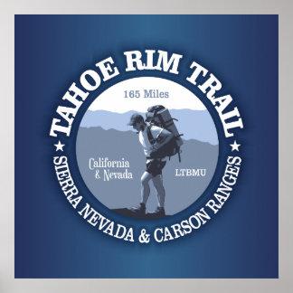 Tahoe Rim Trail Poster