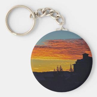 Tahoe Sunrise Key Chain