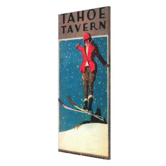 Tahoe Tavern Promo Poster Canvas Print