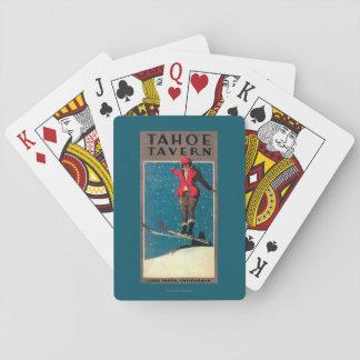 Tahoe Tavern Promo Poster Poker Deck